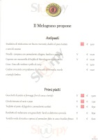 Menu IL MELOGRANO