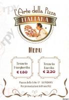 Foto del menù di ARTE DELLA PIZZA ITALIANA