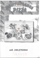 Menu PIZZA MEDITERRANEA