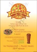 Menu MONDO PIZZA E KEBAB