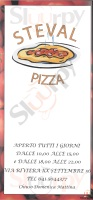 Menu STEVAL PIZZA