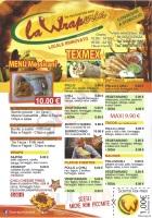 Foto del menù di LA WRAPERIA